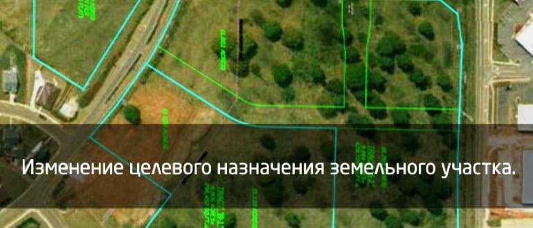 Целевое назначение земельного участка