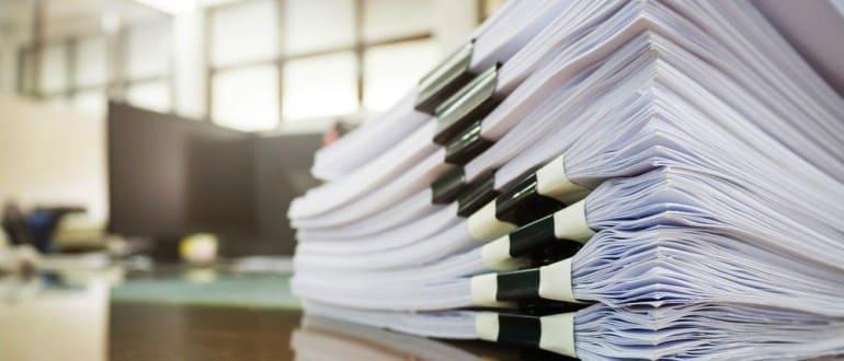 Пакет документов на получение земли