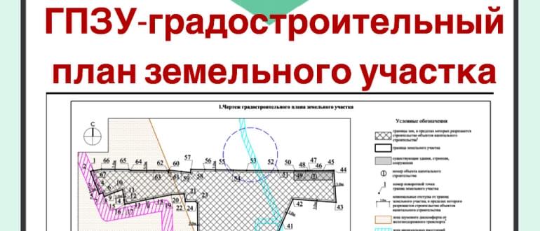 Получение ГПЗУ в Московской области