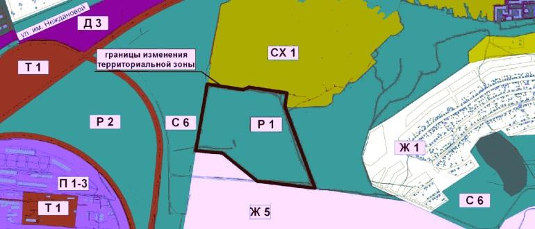 Территориальная зона Ж
