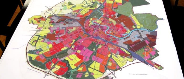 Внесение изменений в генплан города